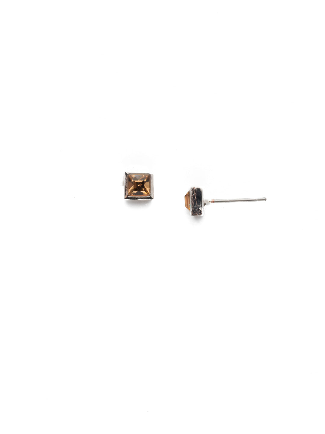 Square Stuff Stud Earrings - ECM53RHNTB