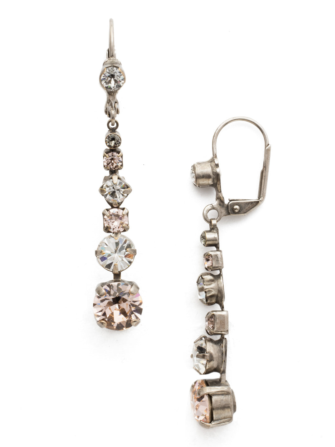 Dazzling Dotted Line Earring - ECQ14ASSNB