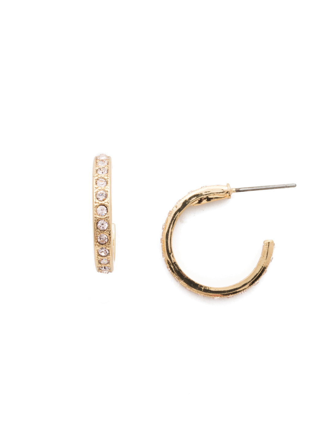 Silva Hoop Earrings - ECR110BGSRC