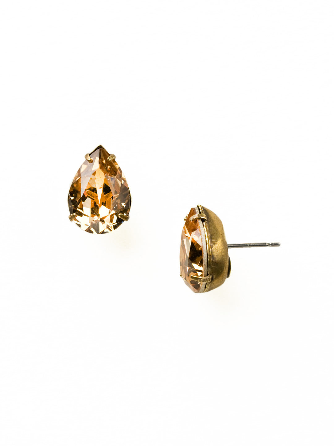 Classic Teardrop Post Earring - ECR115AGNT
