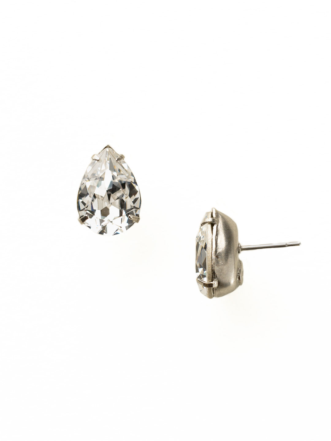 Classic Teardrop Post Earring - ECR115ASCRY