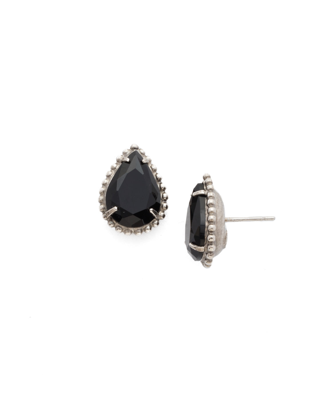 Pear Cut Solitaire Earring - EDA63ASCNO