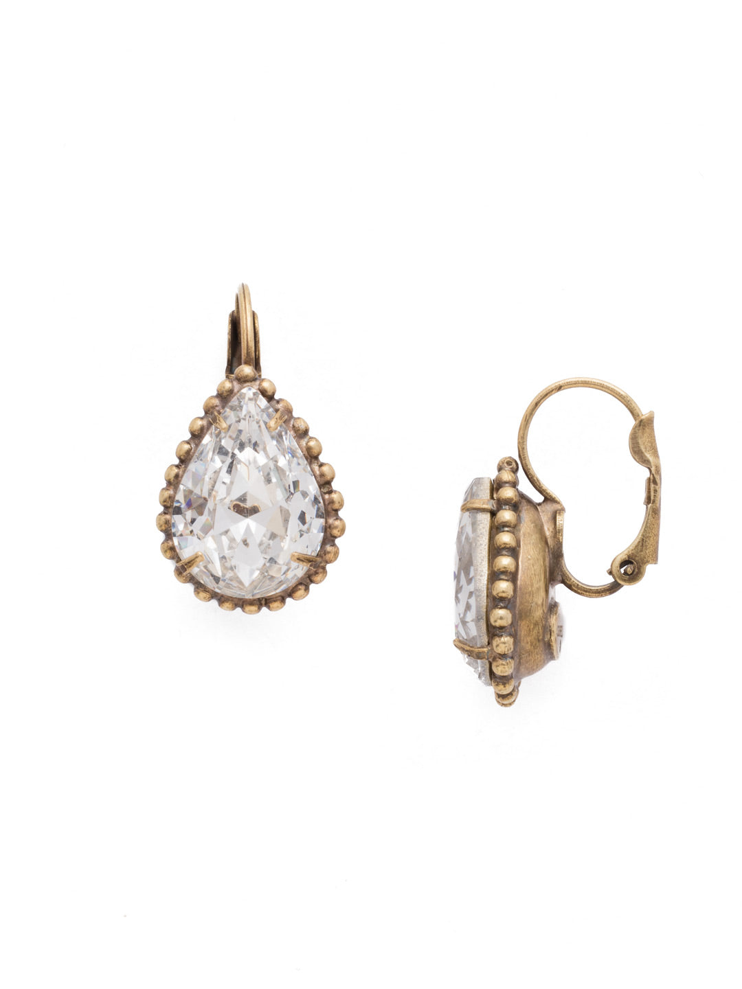 Pear Cut Drop Earring - EDA65AGCRY