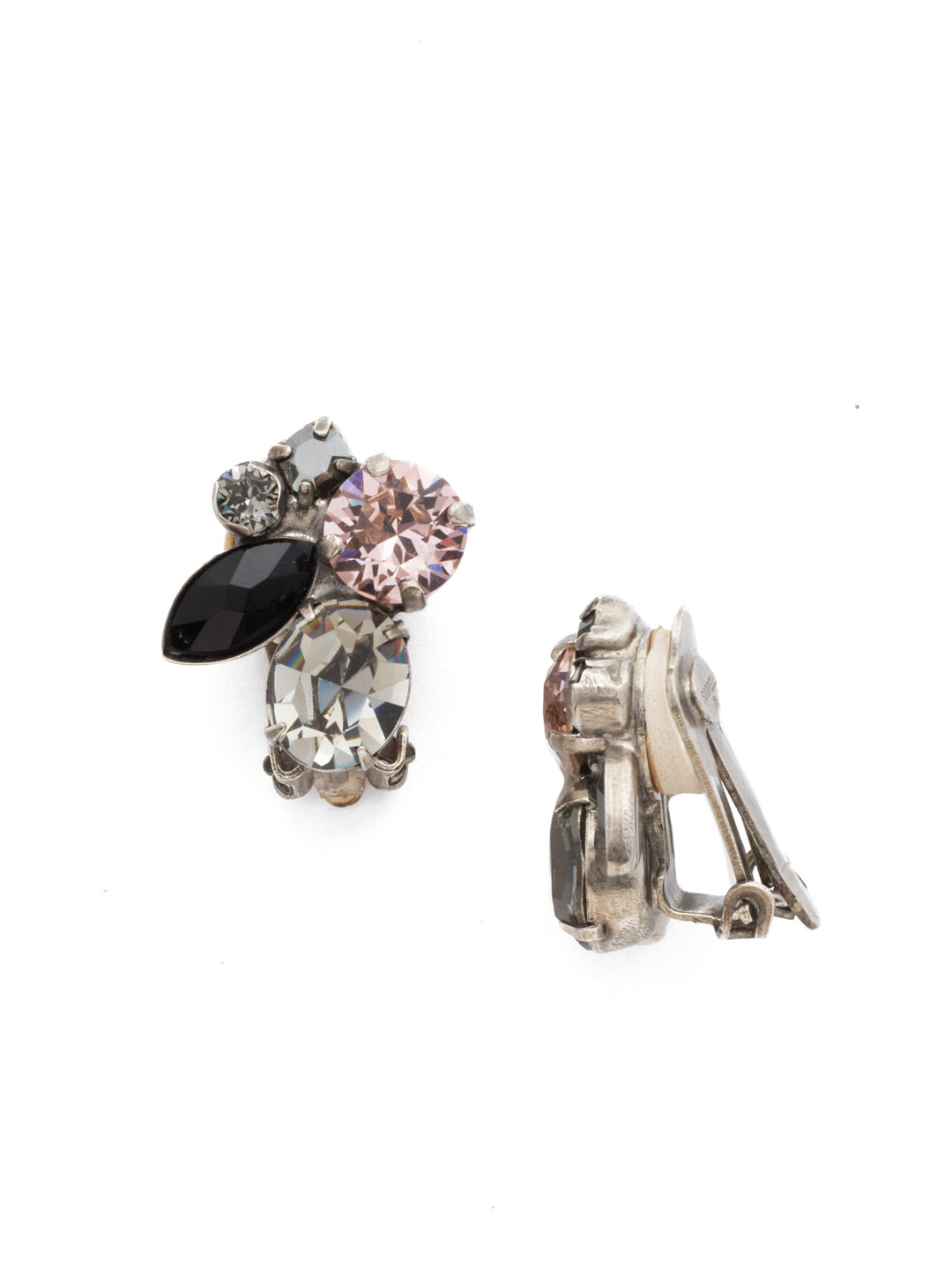Rock Candy Clip Earring - EDG11CASCNO