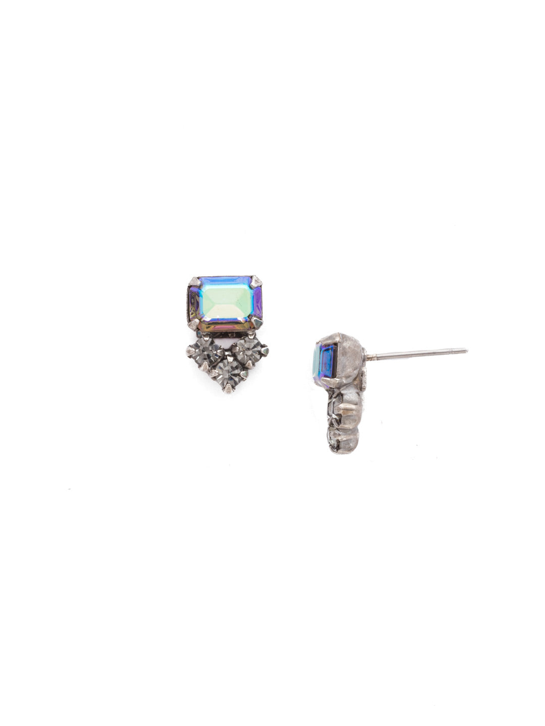 Truncated Cluster Post Earring - EDH14ASCRO