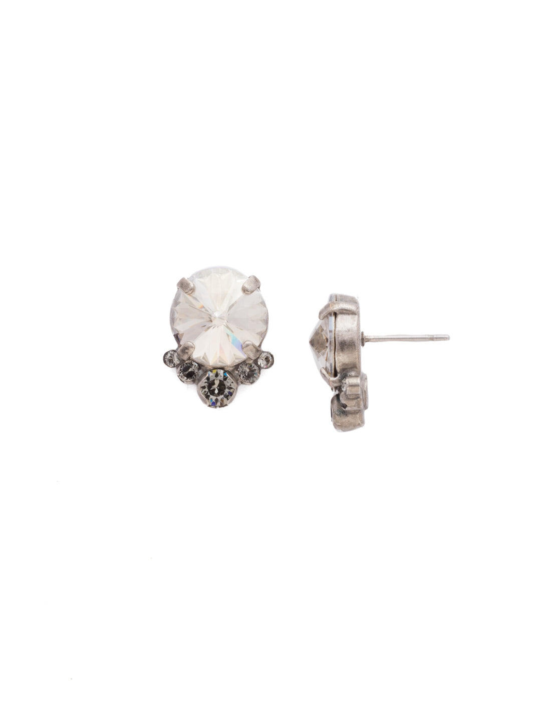 Regal Rounds Stud Earrings - EDH98ASCRO