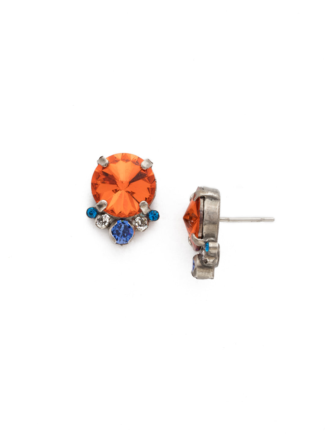 Regal Rounds Stud Earrings - EDH98ASOCR