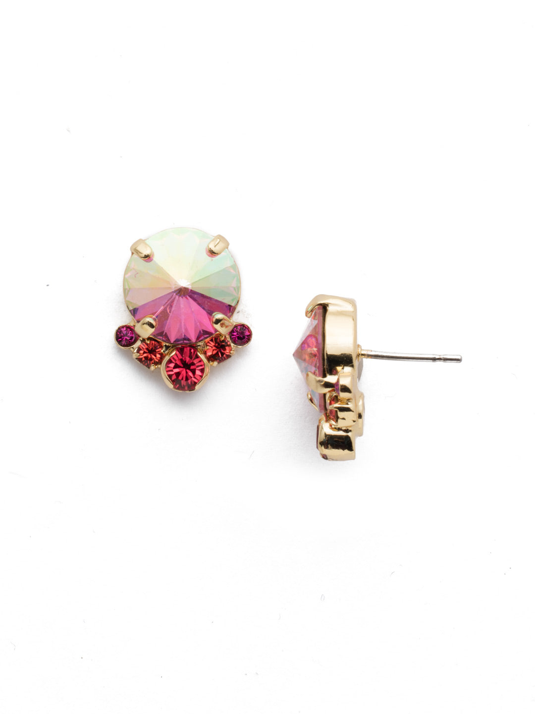 Regal Rounds Stud Earrings - EDH98BGBGA