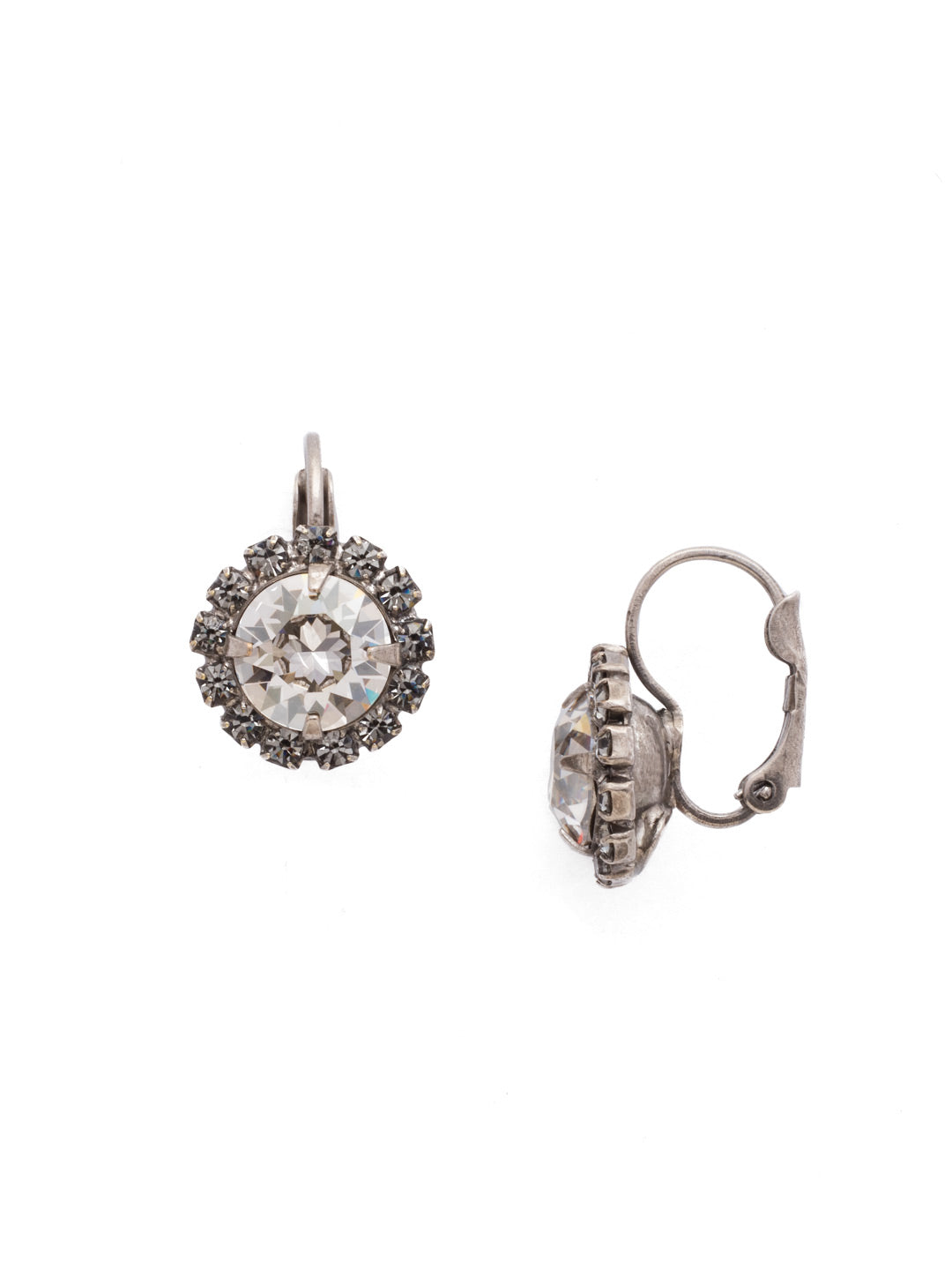 Haute Halo Stud Earrings - EDL10ASCRO