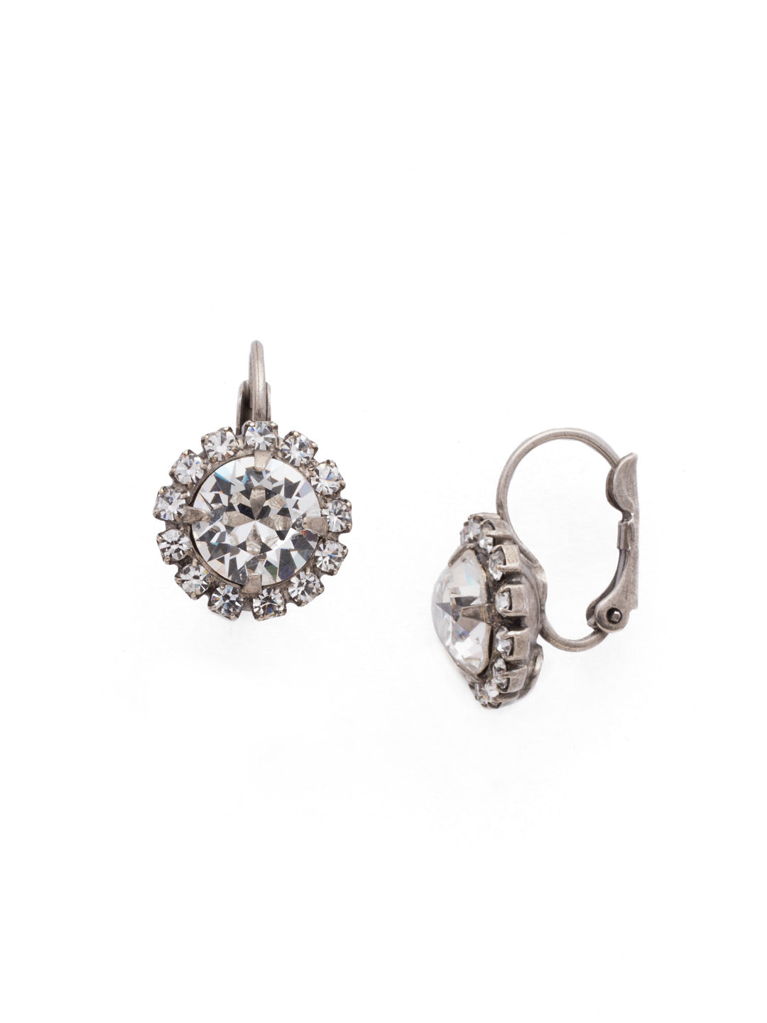 Haute Halo Stud Earrings - EDL10ASCRY