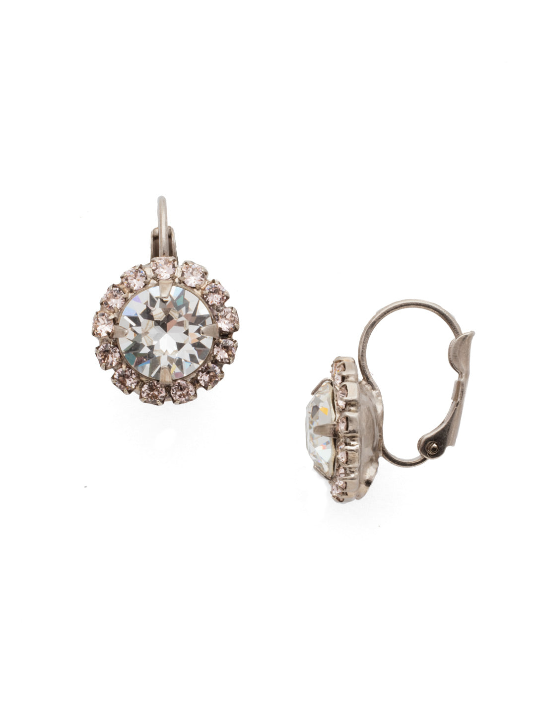 Haute Halo Dangle Earrings - EDL10ASPLS