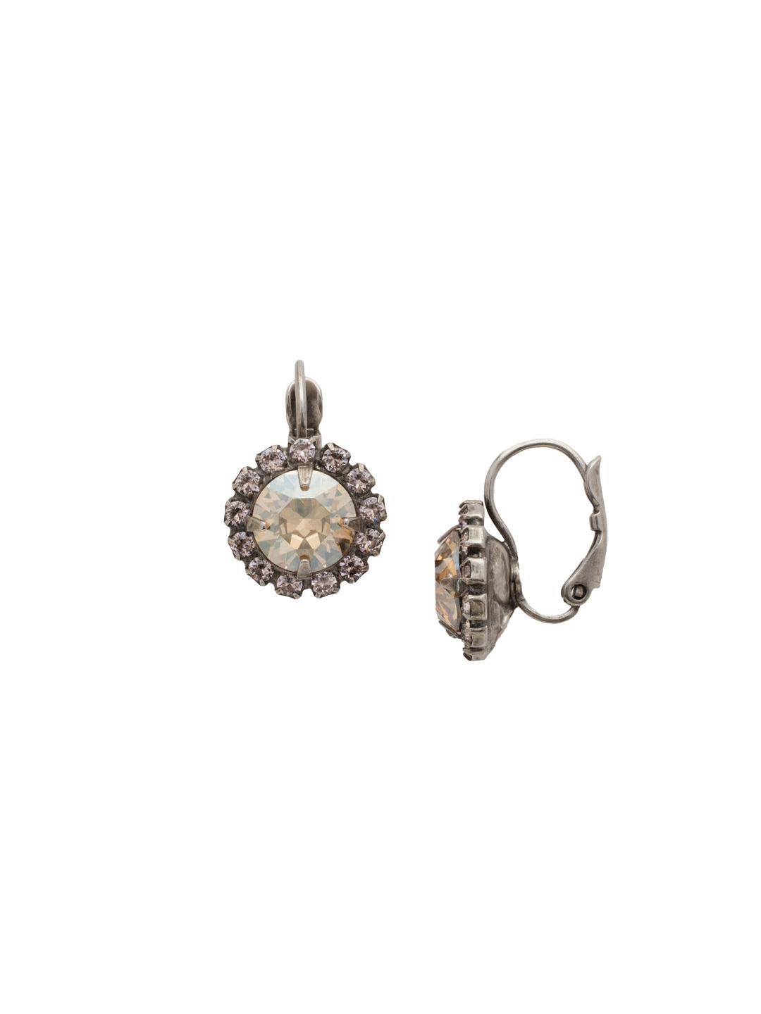 Haute Halo Stud Earrings - EDL10ASSBL
