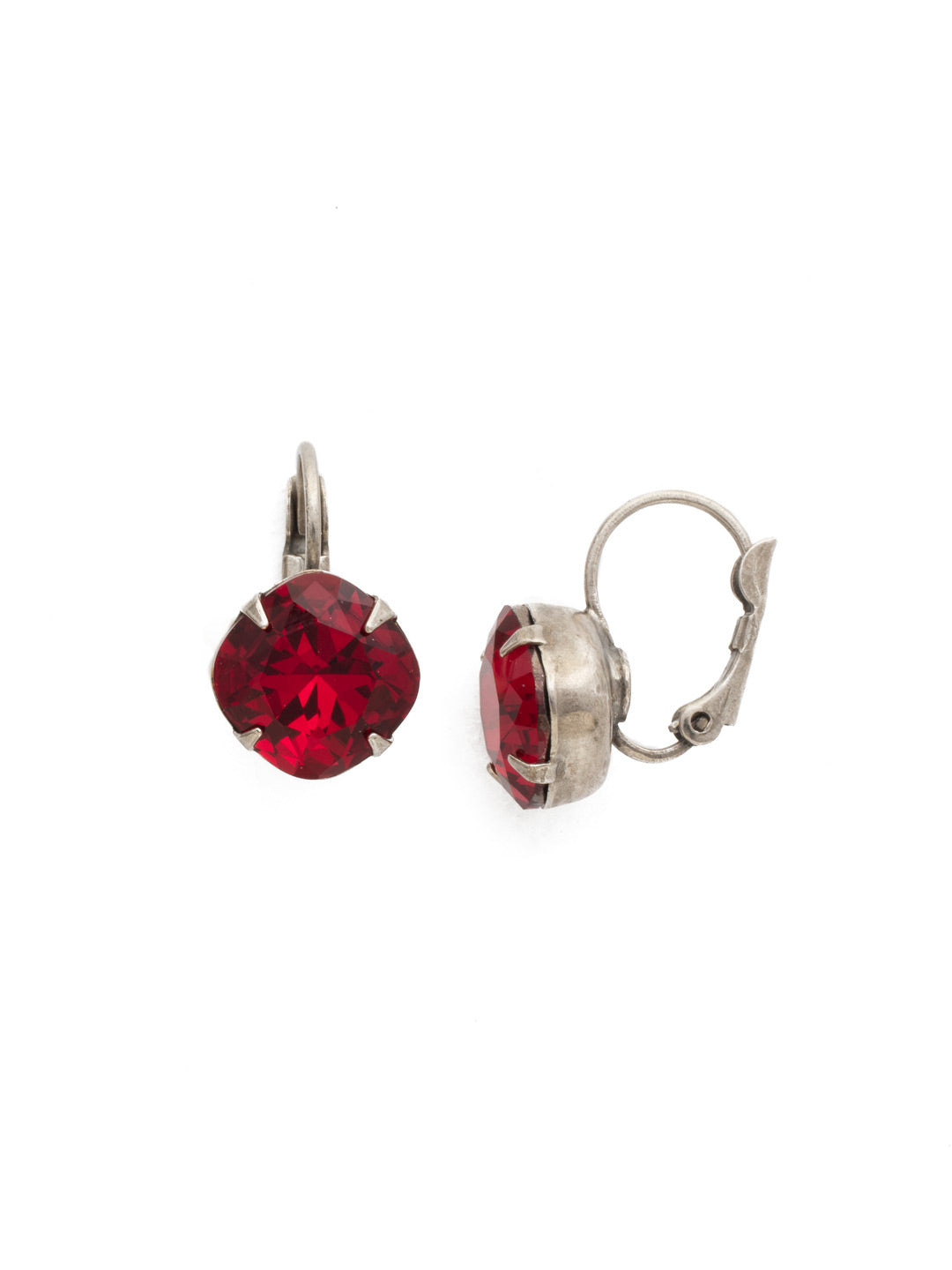 Cushion-Cut Dangle Earrings - EDL12ASSI