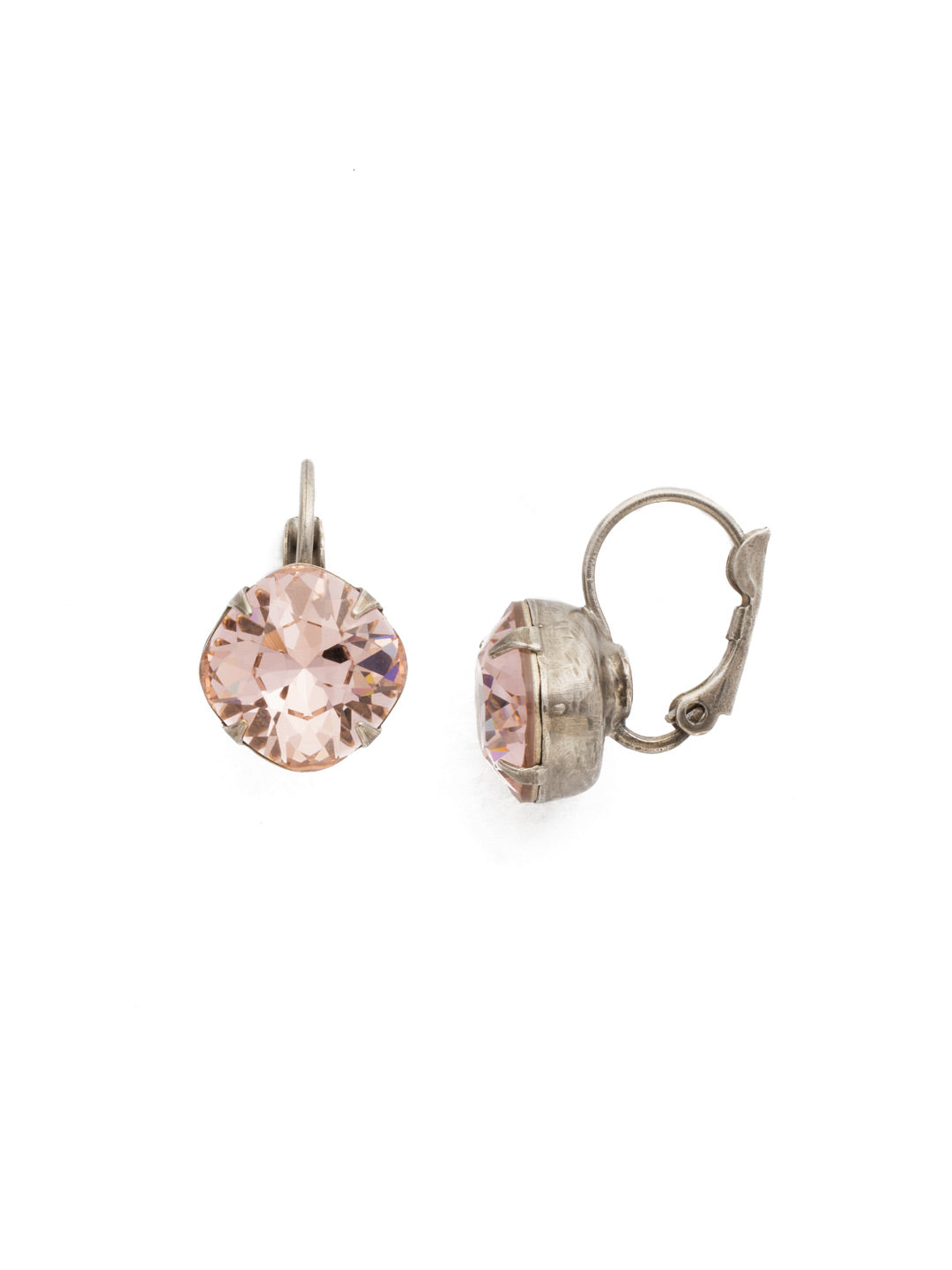 Cushion-Cut Dangle Earrings - EDL12ASVIN