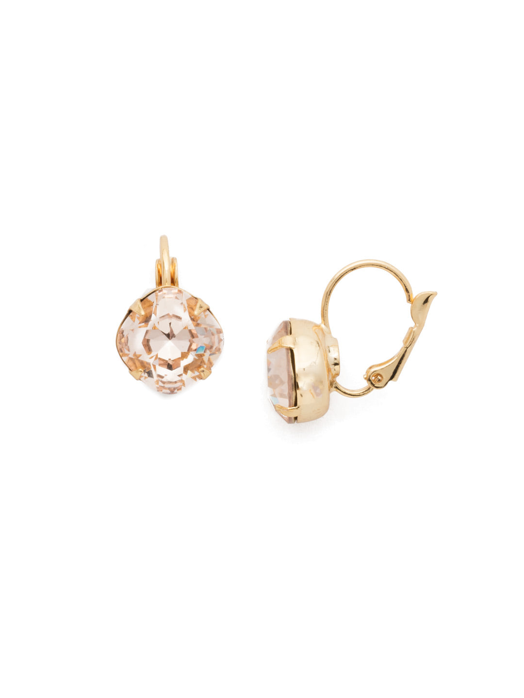 Cushion-Cut Dangle Earrings - EDL12BGSRC
