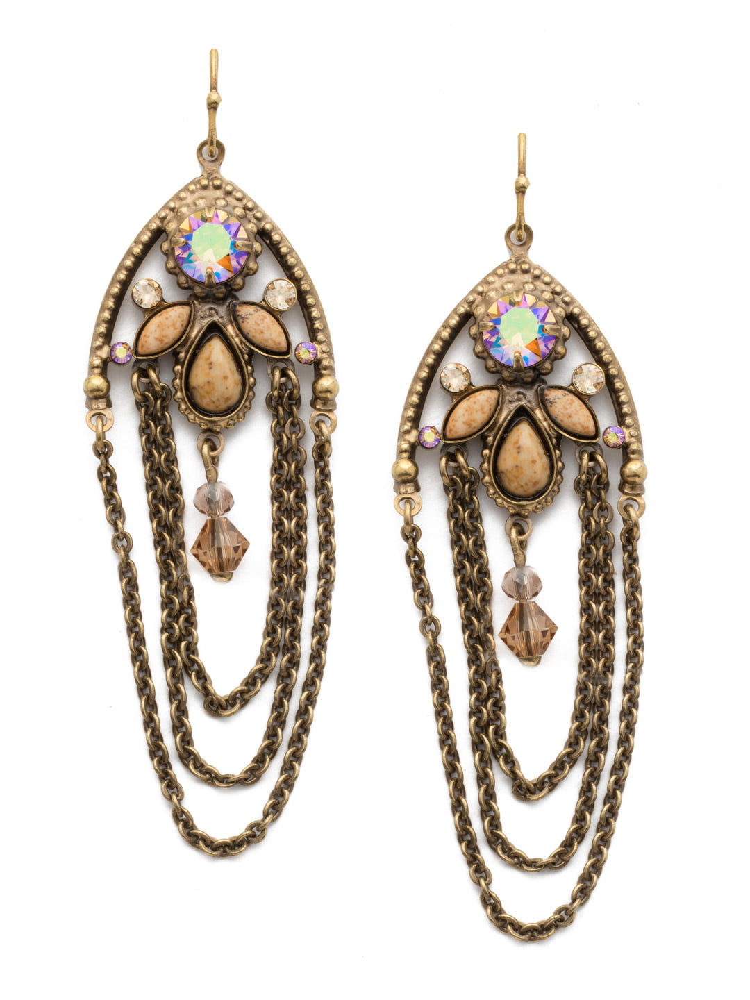Charming Chain Earring - EDN101AGNT
