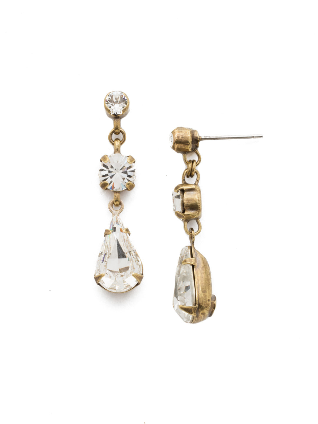 Tiger Lily Trio Earring - EDN48AGCRY