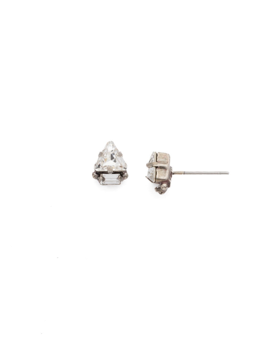 Tri-ed and True Crystal Earring - EDN51ASCRY