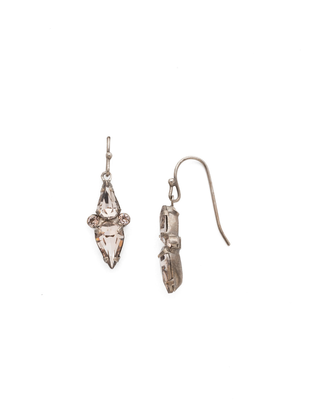 Mirror Image Dangle Earrings - EDP4ASSBL
