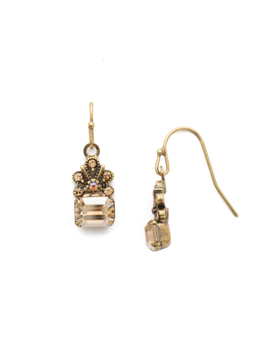 Crowning Glory Dangle Earrings - EDP9AGNT