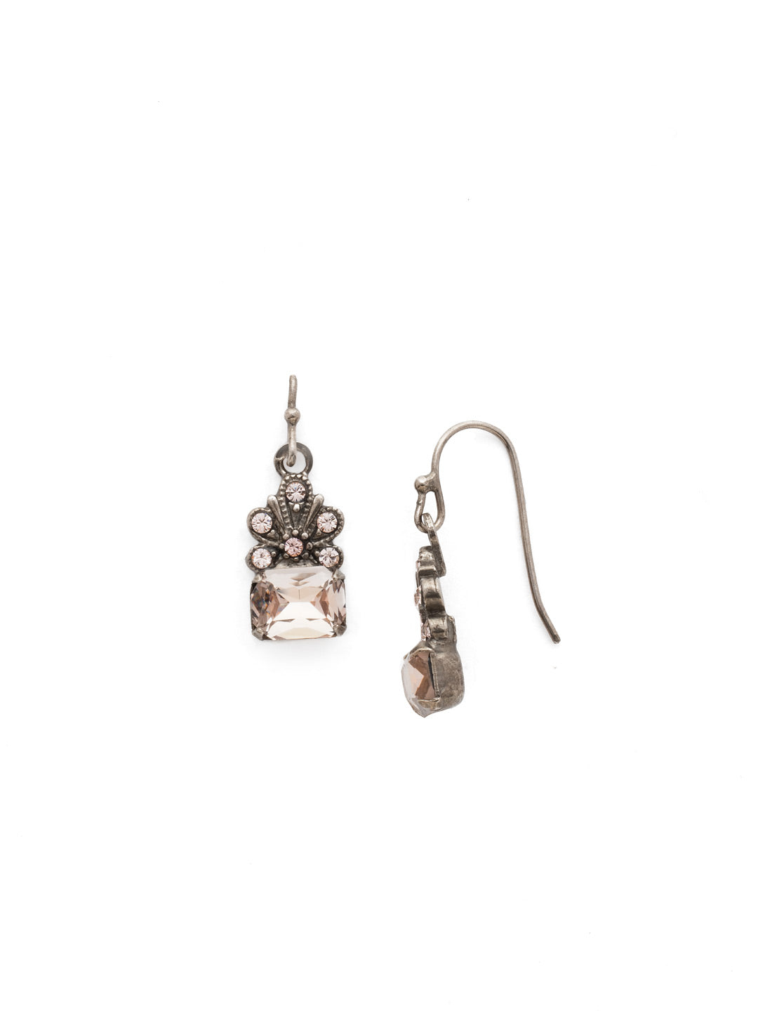 Crowning Glory Dangle Earrings - EDP9ASSBL