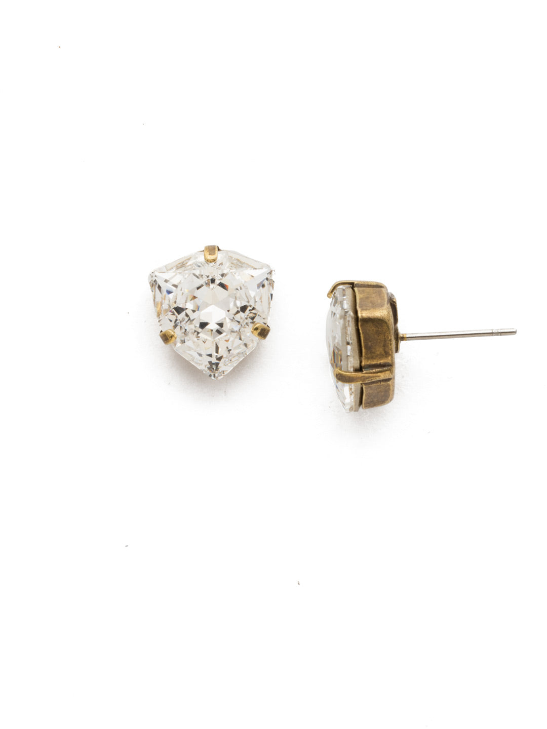 Perfectly Pretty Stud Earrings - EDS10AGCRY