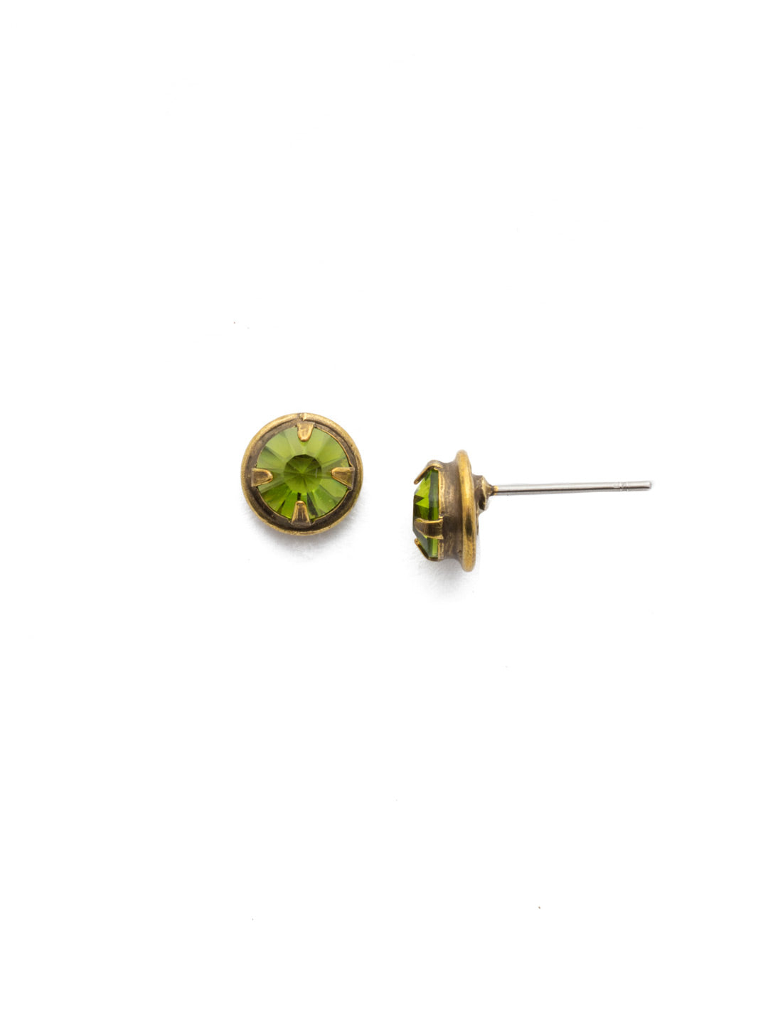 Odalis Crystal Stud Earrings - EDY37AGOL