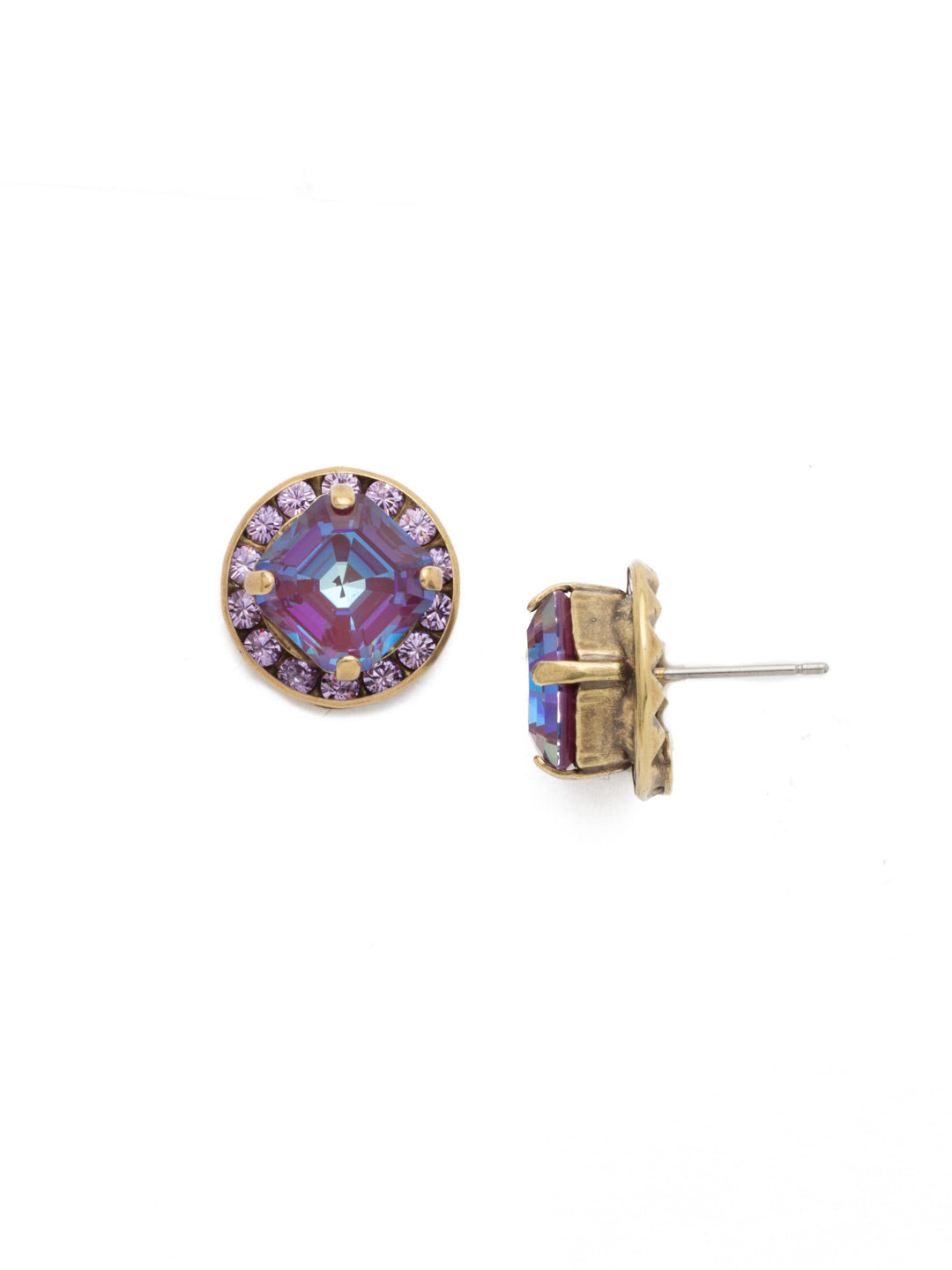 Dua Stud Earrings - EEB33AGIRB