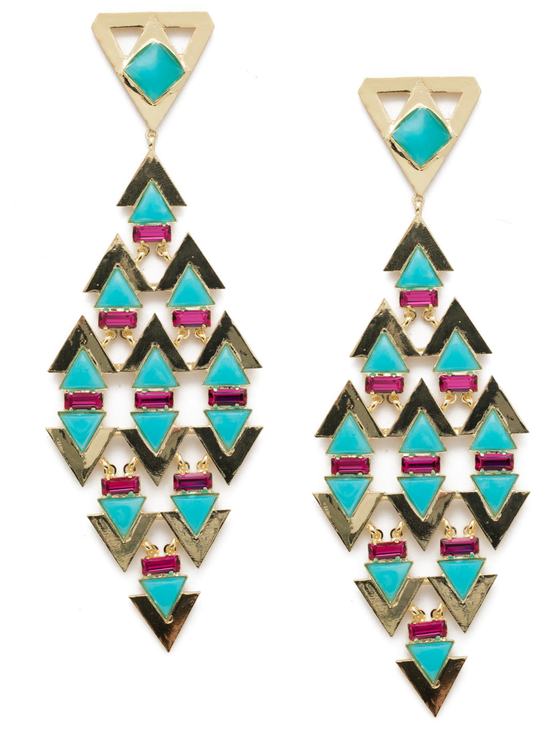 Fable Statement Earring - EEB40BGPRB