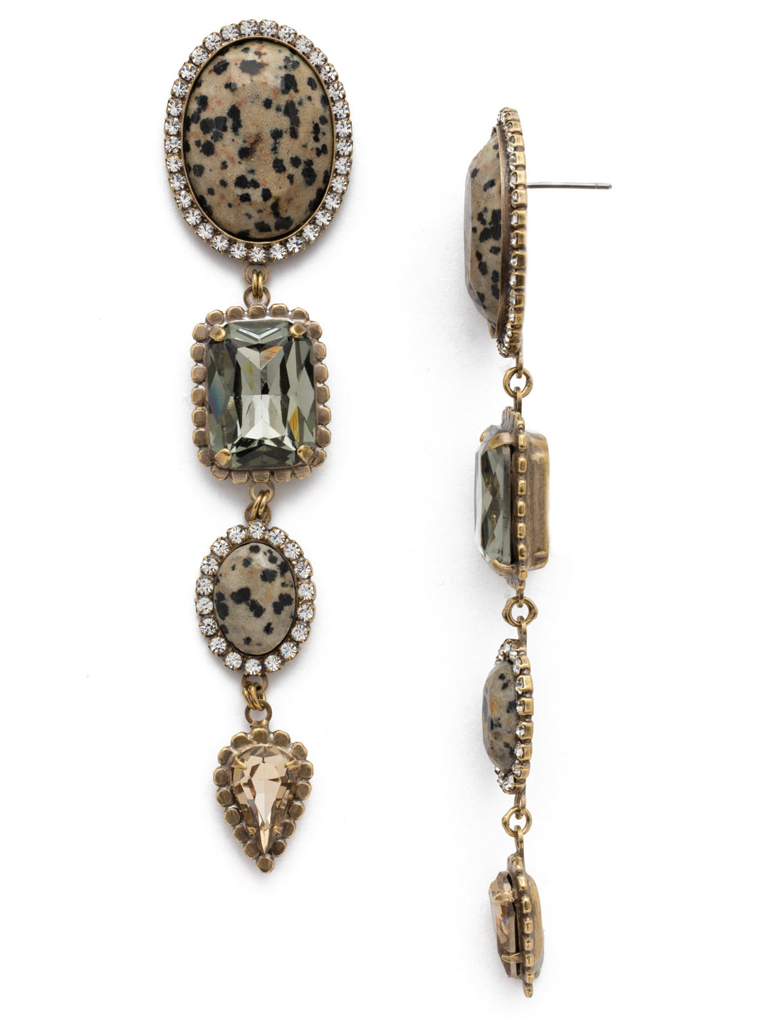 Elliana Statement Earring - EEB43AGNEL