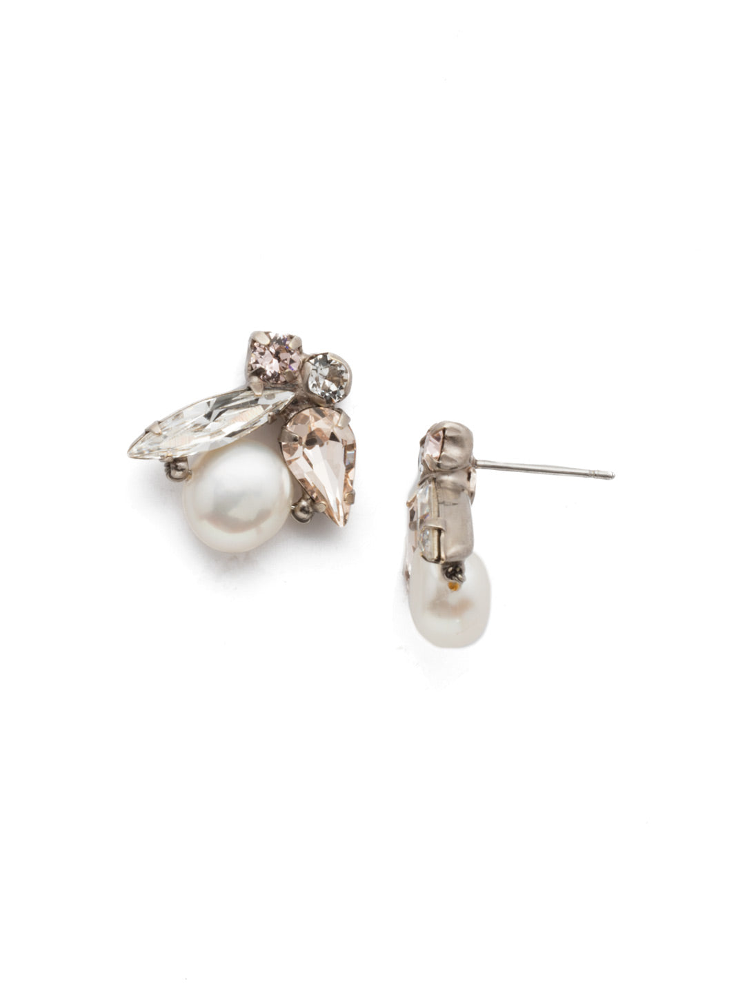 Elisa Post Earring - EEC5ASSBL