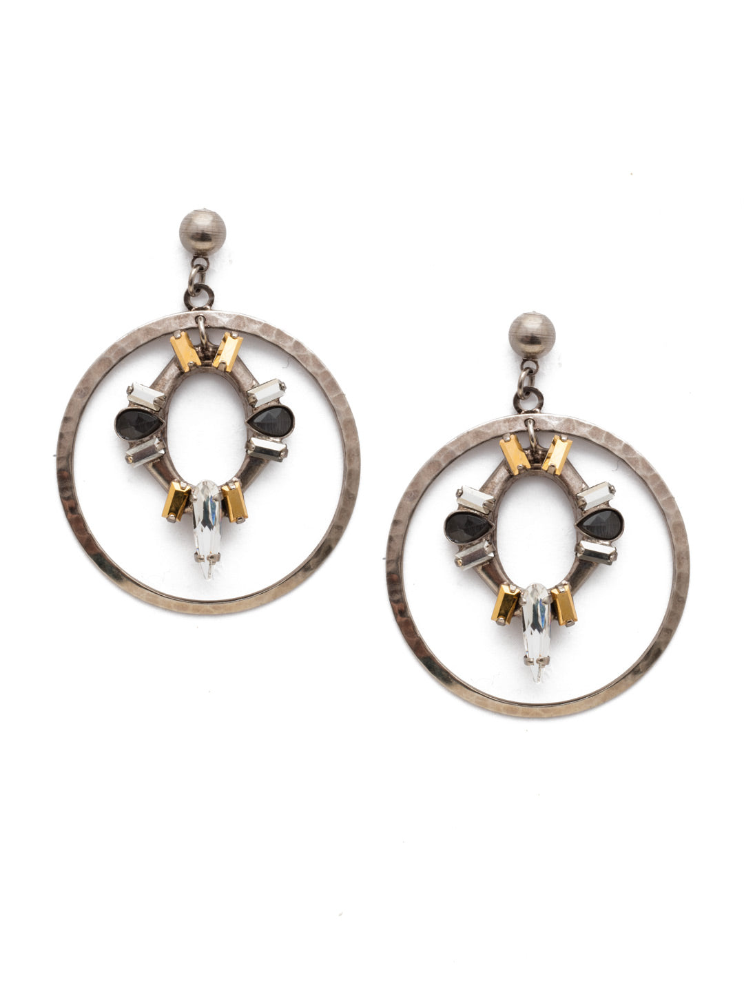 Nevaeh Forward Hoop Earring - EEE37ASHMT