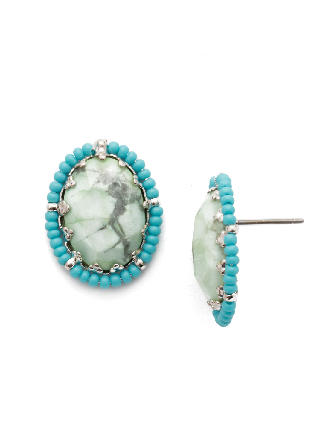 Radiant Stone Post Earring - EEH23RHTHT