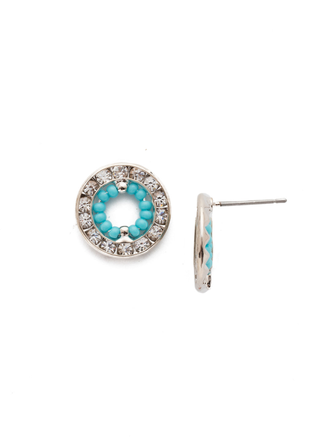 Fire & Ice Stud Earrings - EEH26RHTHT