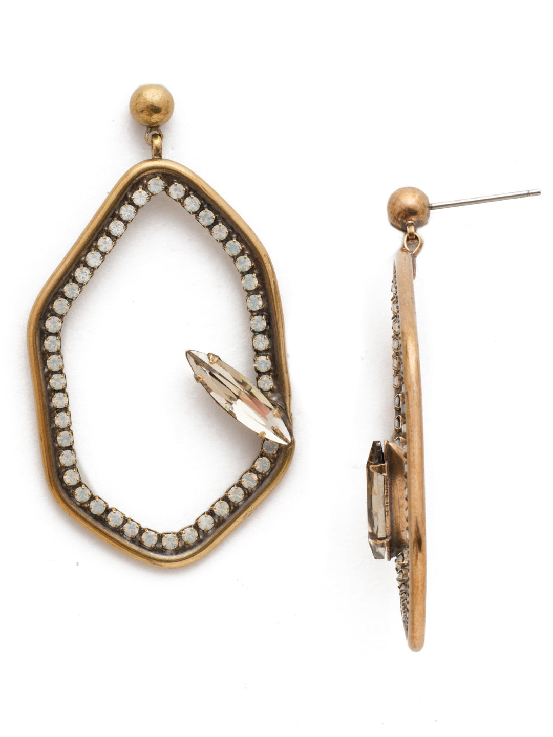 Gemma Dangle Earrings - EEH28AGROB