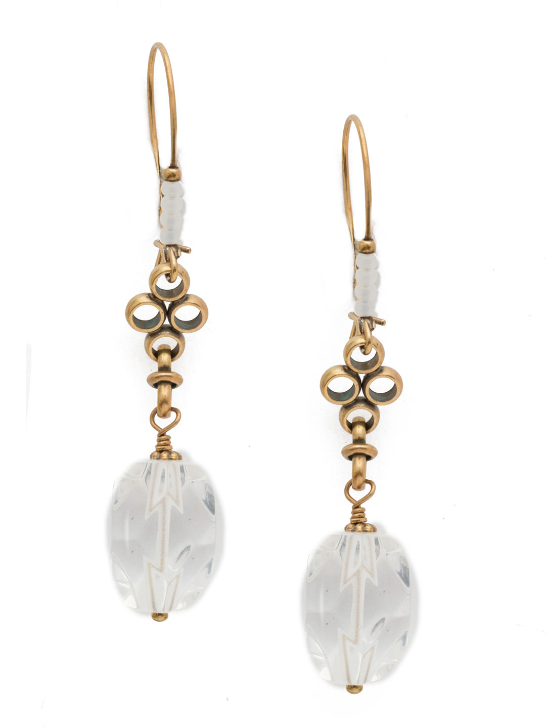 Vitrine Dangle Earring - EEK13AGROB