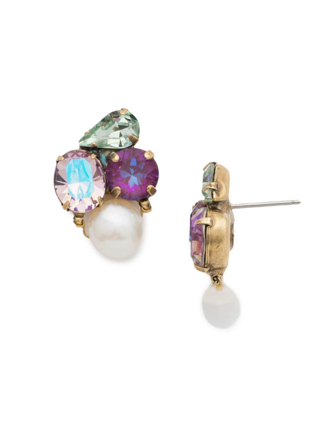 Aziza Stud Earrings - EEK18AGIRB