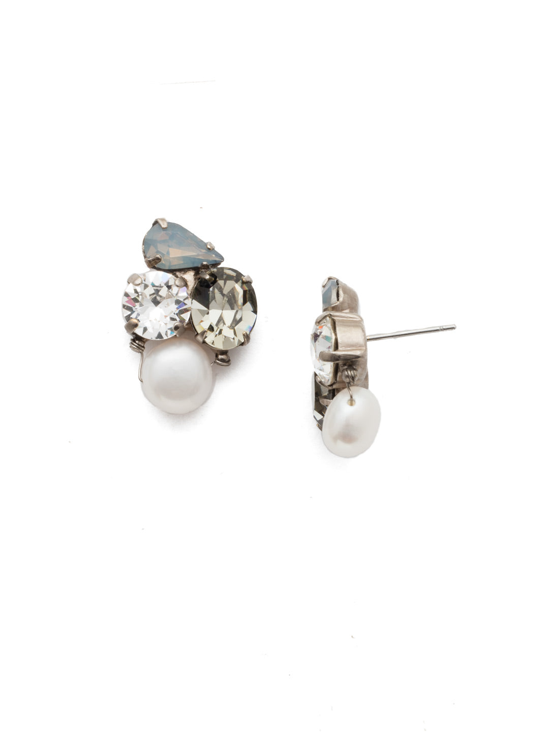 Aziza Stud Earrings - EEK18ASSTC