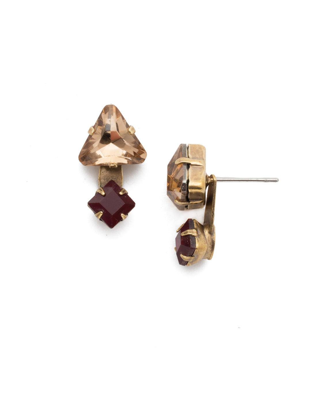 Emma Stud Earrings - EEN12AGMMA