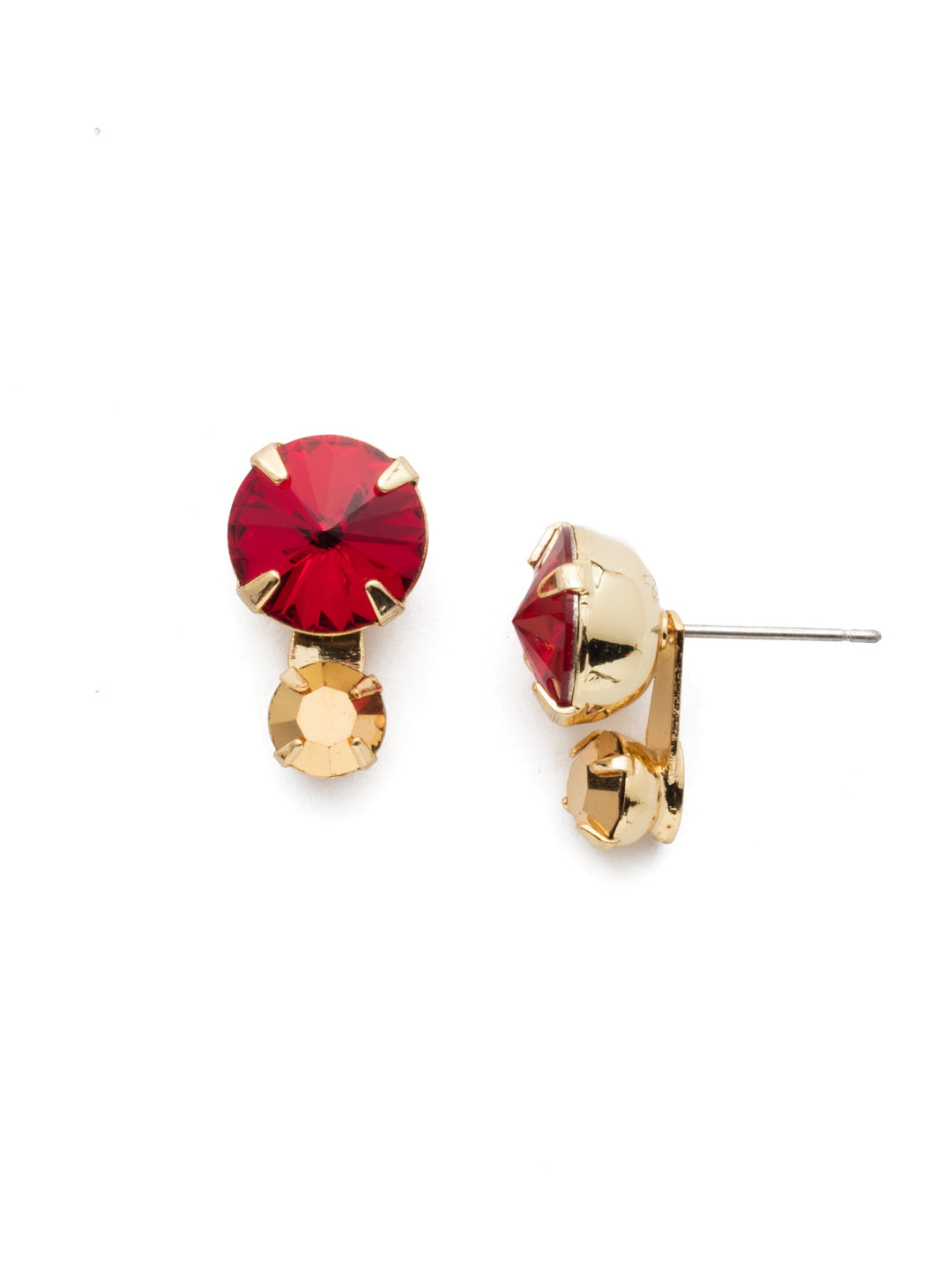 Emma Stud Earrings - EEN12BGGGA