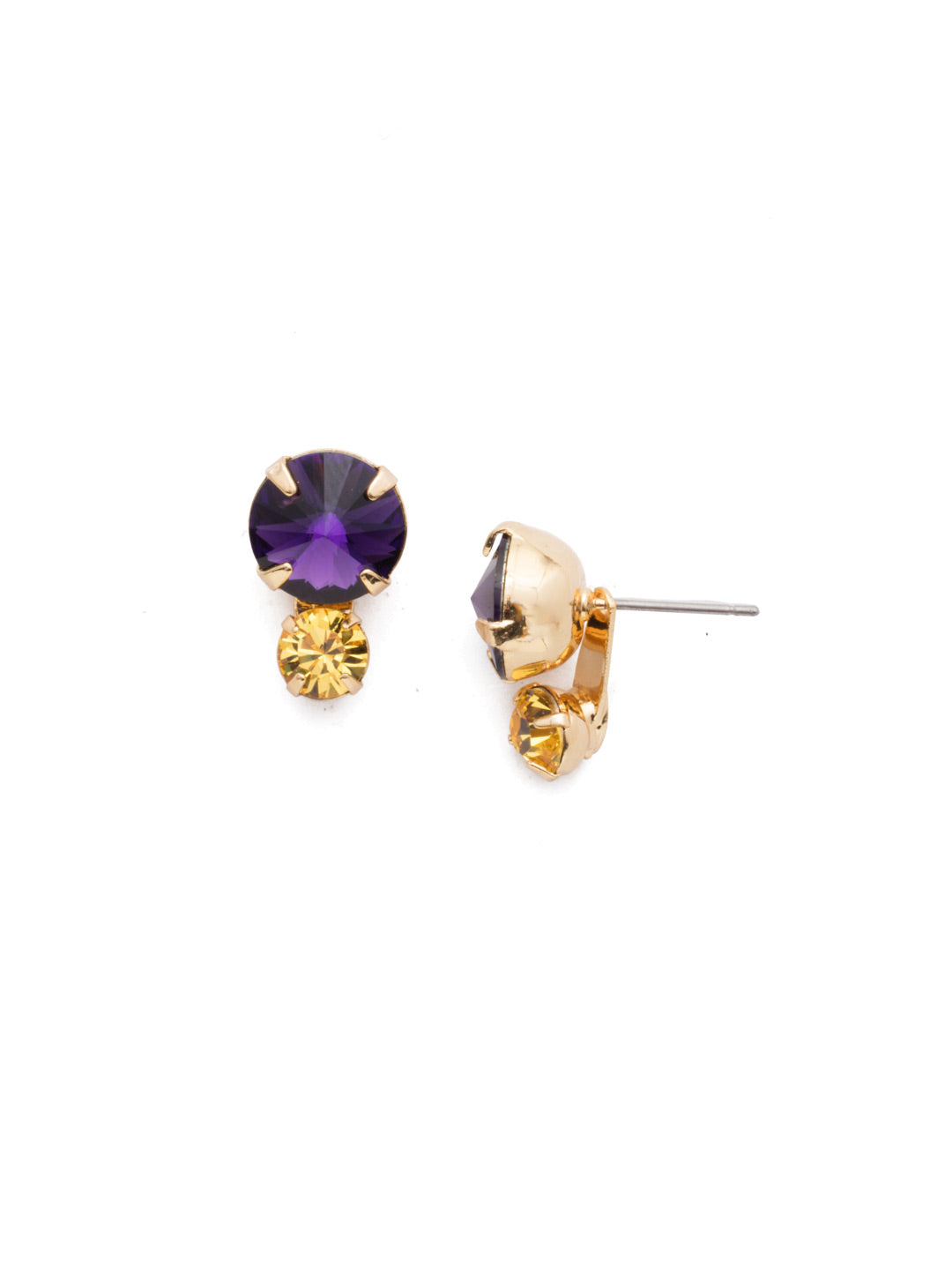 Emma Stud Earrings - EEN12BGLPU
