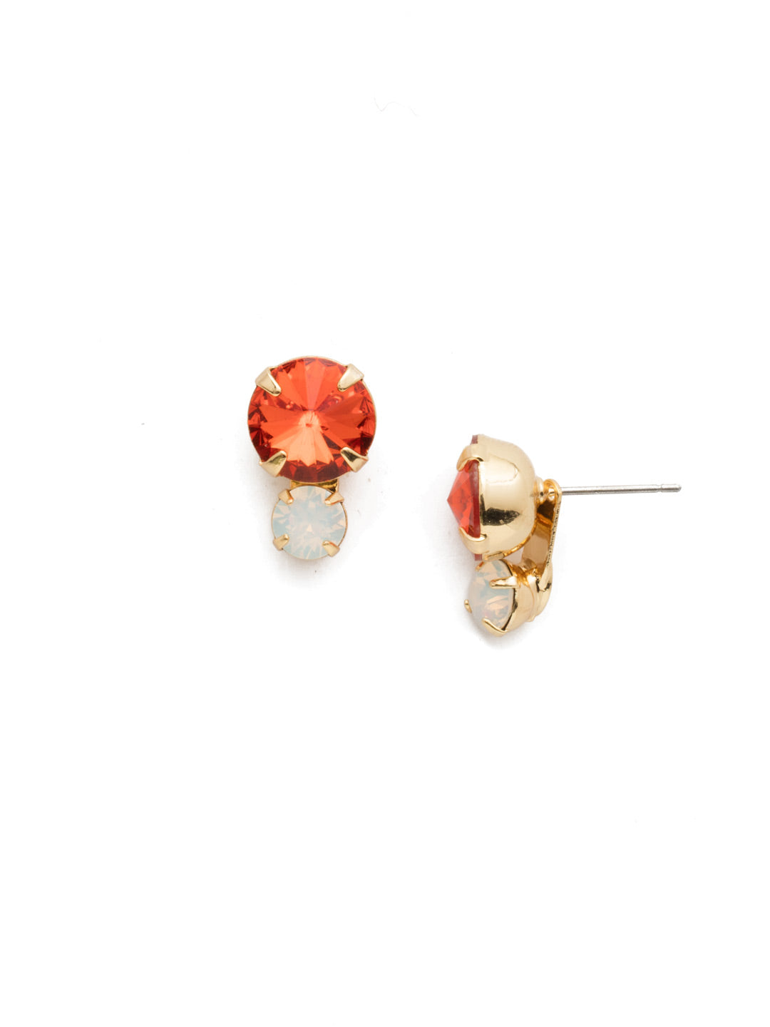 Emma Stud Earrings - EEN12BGOCH