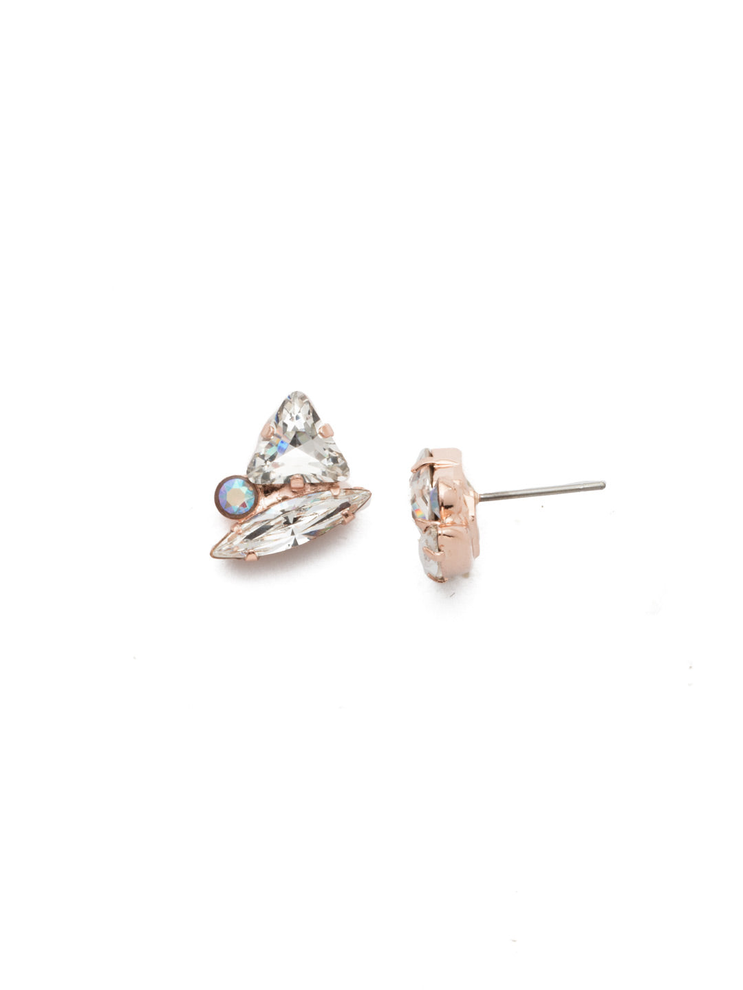 Lennox Stud Earrings - EEN16RGROG