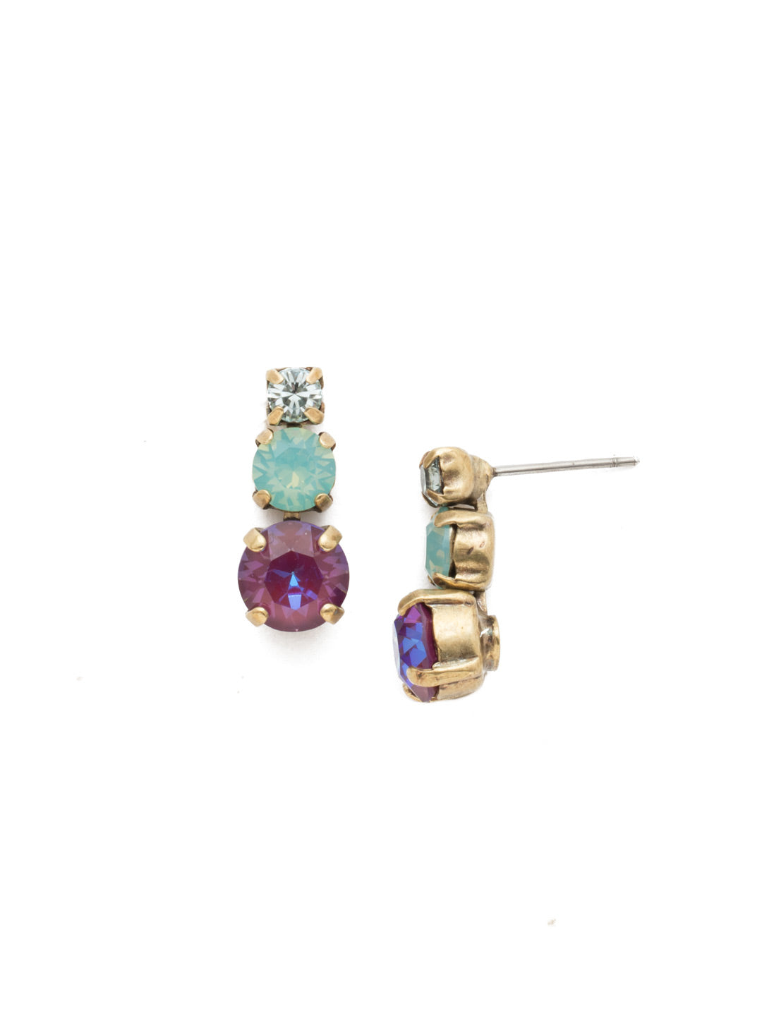 Madison Stud Earrings - EEN17AGIRB