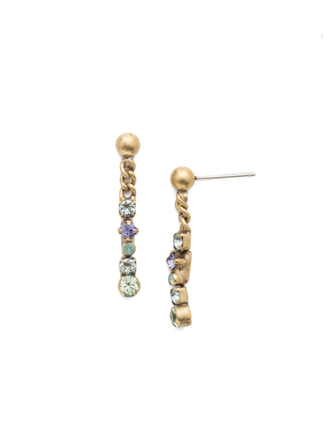 Sylvia Dangle Earrings - EEN21AGIRB