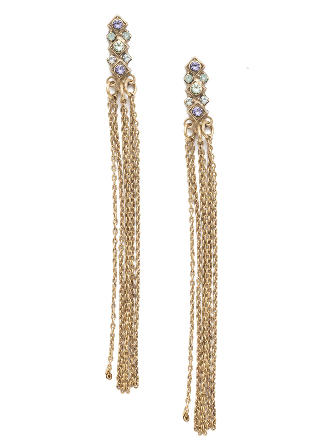 Elena Statement Earrings - EEN23AGIRB