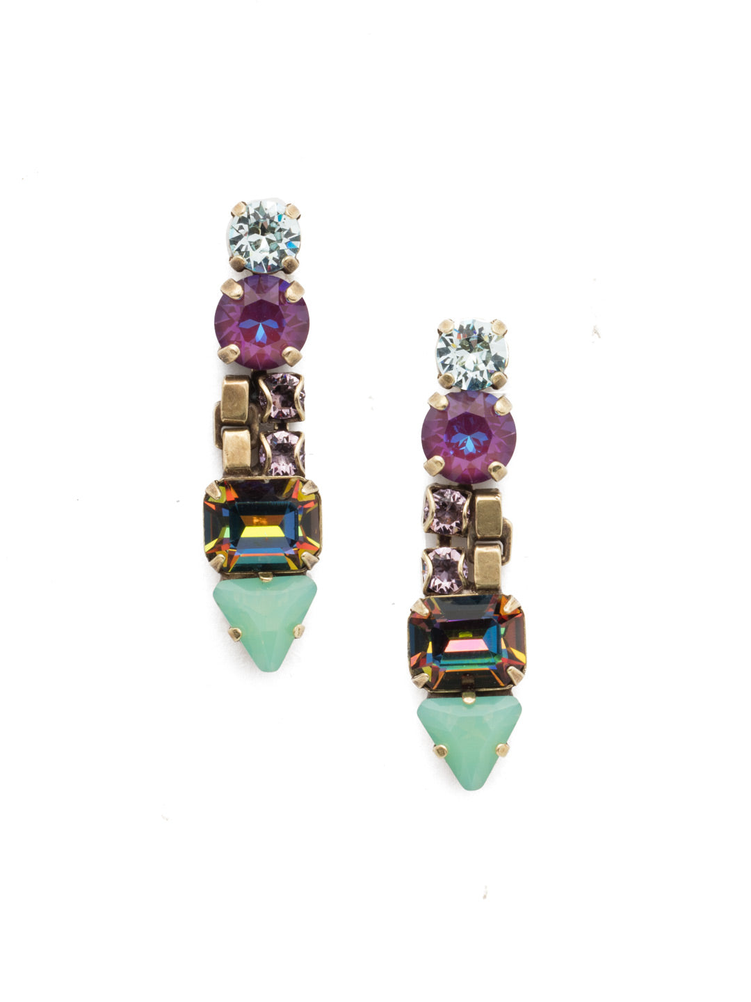 Marley Dangle Earrings - EEN29AGIRB