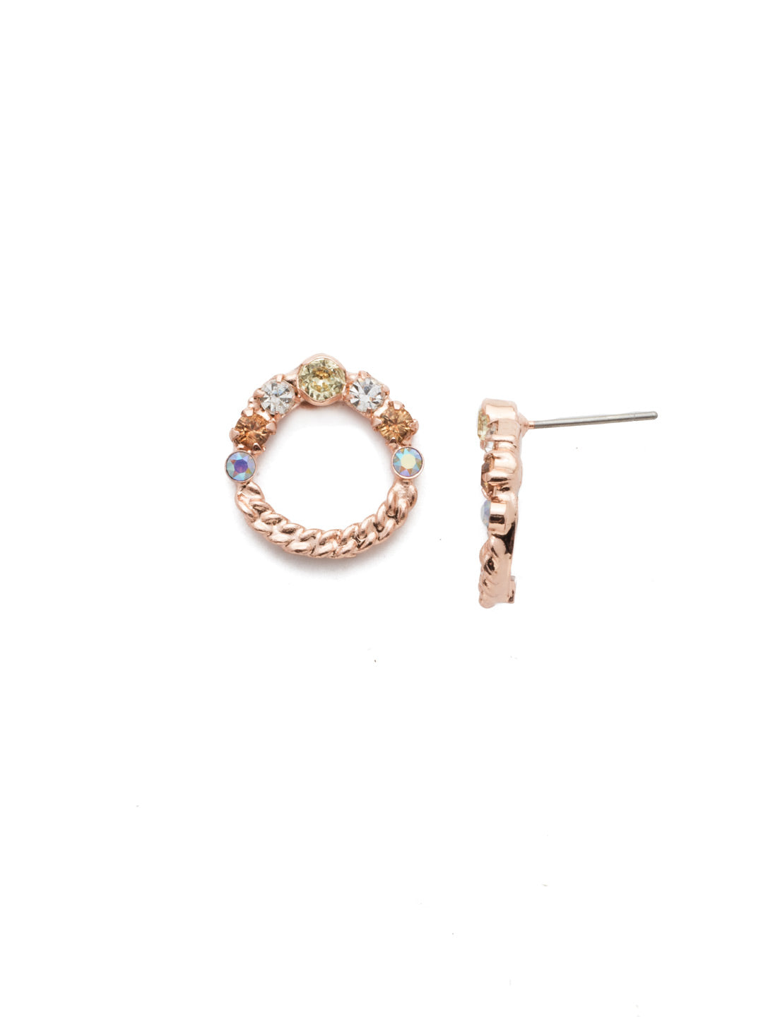 Evelyn Stud Earrings - EEN34RGROG