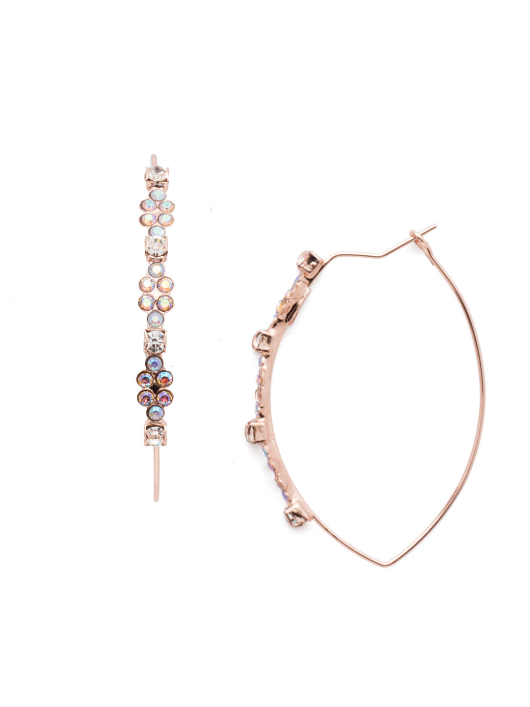 Theresa Hoop Earrings - EEN72RGROG