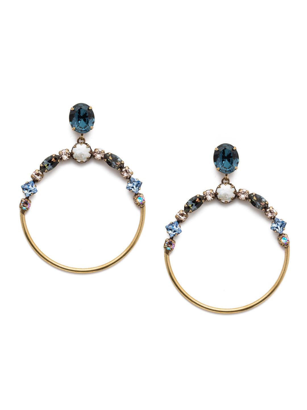 Blake Hoop Earrings - EEP25AGSDE